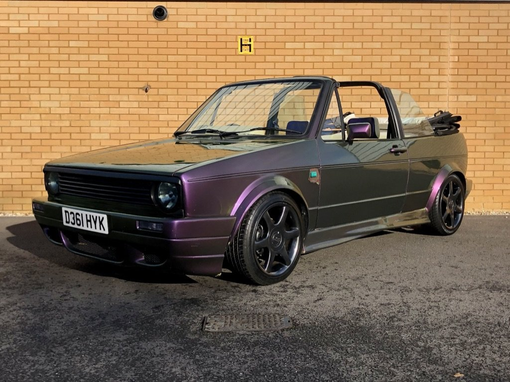 1987 VOLKSWAGEN GOLF GTI 1.8L // MK1  // Convertible // Px swap For Sale (picture 1 of 10)