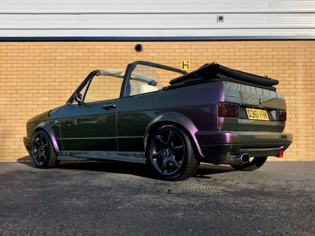 1987 VOLKSWAGEN GOLF GTI 1.8L // MK1  // Convertible // Px swap For Sale (picture 3 of 10)