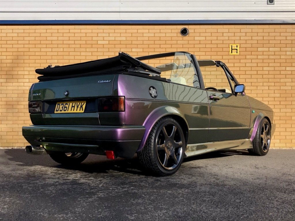 1987 VOLKSWAGEN GOLF GTI 1.8L // MK1  // Convertible // Px swap For Sale (picture 4 of 10)