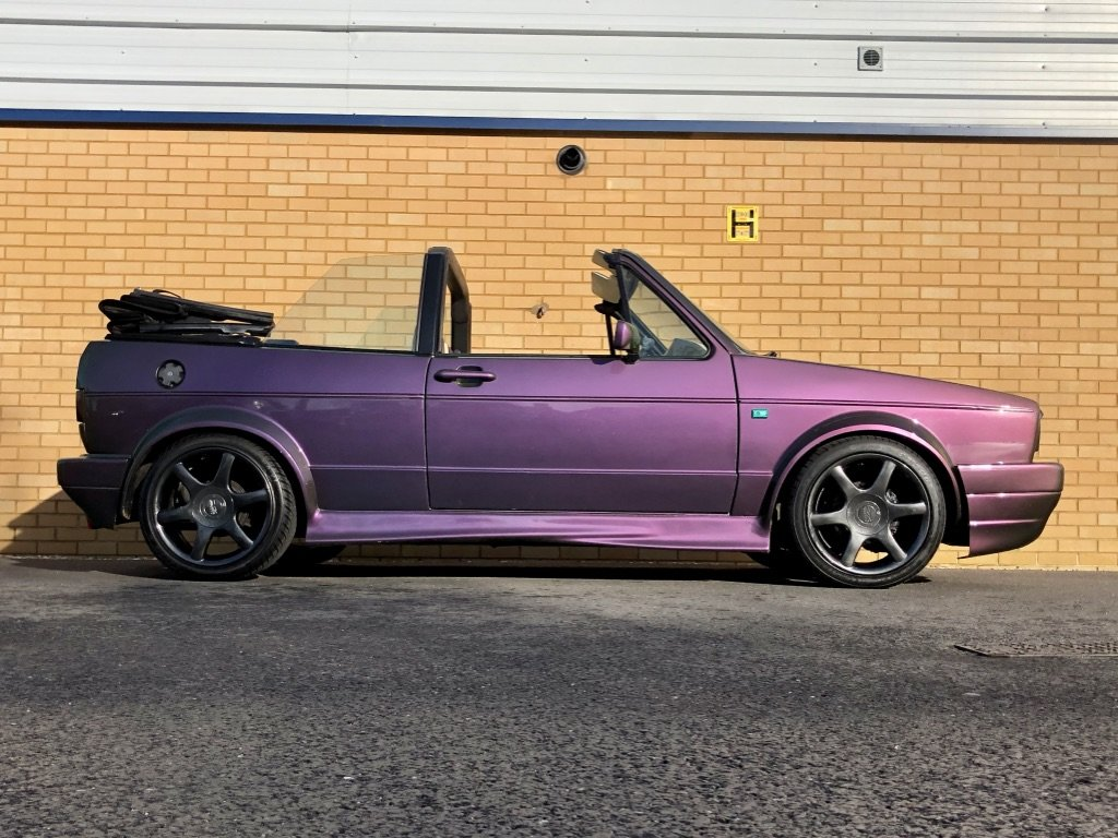1987 VOLKSWAGEN GOLF GTI 1.8L // MK1  // Convertible // Px swap For Sale (picture 5 of 10)