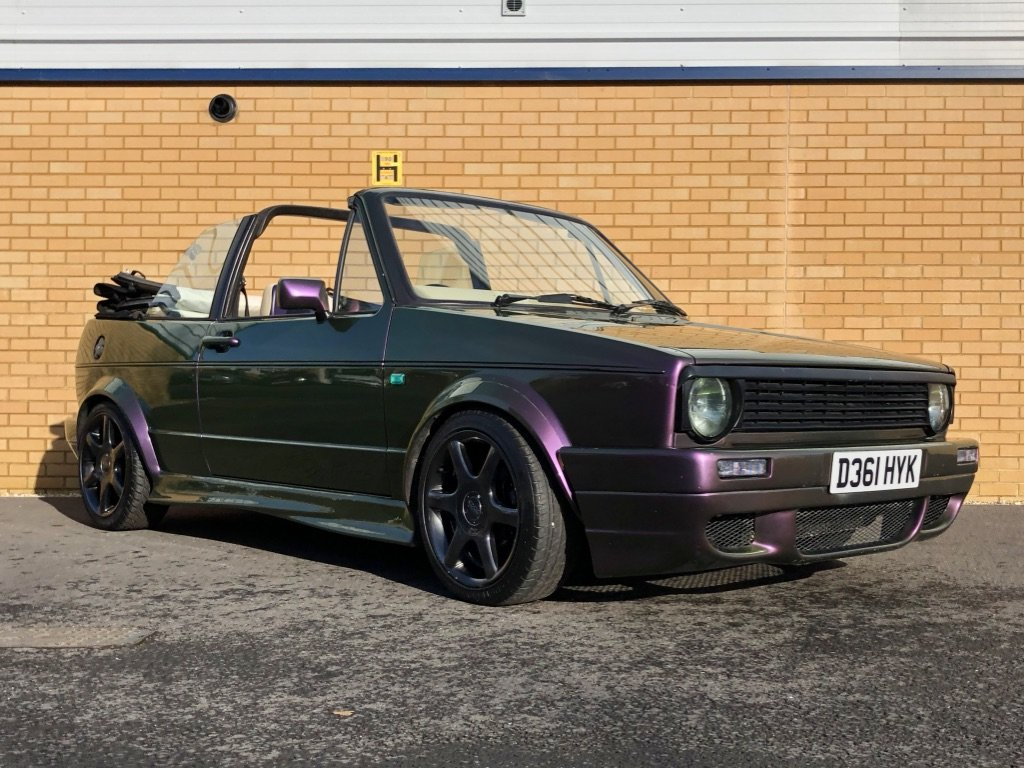 1987 VOLKSWAGEN GOLF GTI 1.8L // MK1  // Convertible // Px swap For Sale (picture 6 of 10)