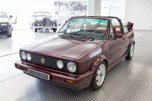 1990 VWGolf I Cabrio  SOLD by Auction