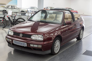 1996 VW Golf III Cabrio For Sale by Auction