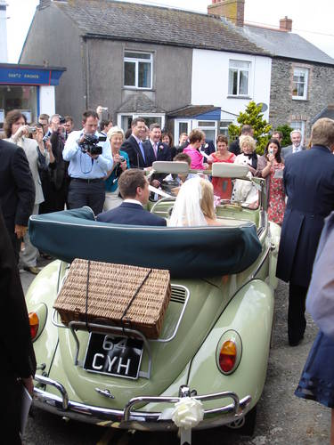 1965 CORNWALL VW WEDDING HIRE WEDDING CAMPER VANS For Hire (picture 5 of 6)