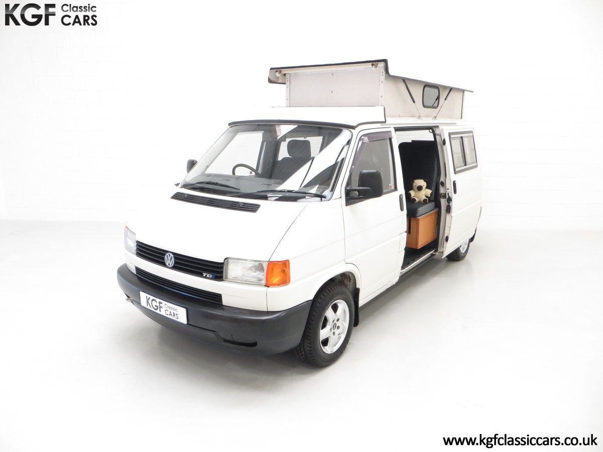 2001 A Young Conversion LWB Volkswagen T4 2.5TDi Campervan For Sale (picture 5 of 24)