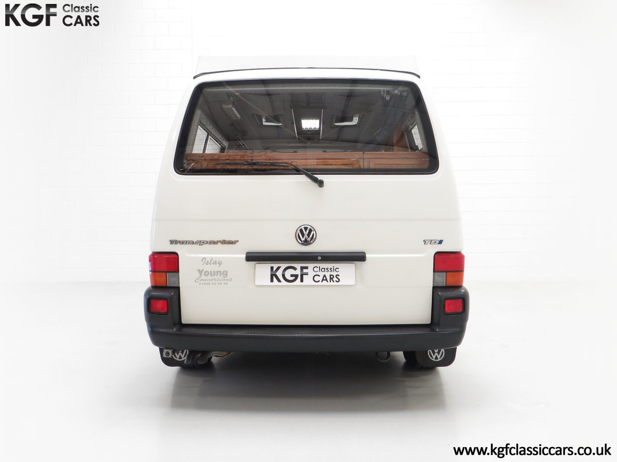 2001 A Young Conversion LWB Volkswagen T4 2.5TDi Campervan For Sale (picture 10 of 24)