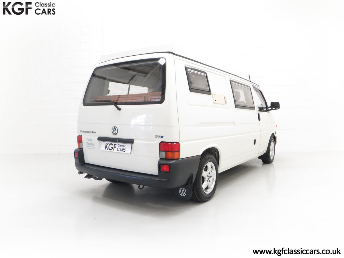 2001 A Young Conversion LWB Volkswagen T4 2.5TDi Campervan For Sale (picture 13 of 24)