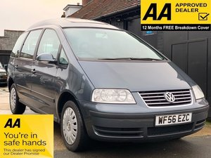 2006 Volkswagen Sharan 2.0 S 5dr - WHEEL CHAIR ACCESS