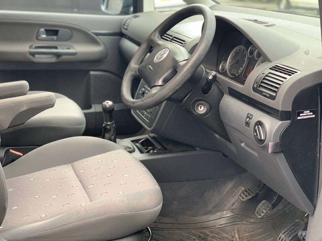 2006 Volkswagen Sharan 2.0 S 5dr - WHEEL CHAIR ACCESS For Sale (picture 3 of 6)