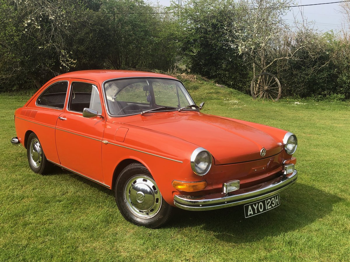 1970 VW type 3 fastback , 48,000 miles For Sale (picture 1 of 6)