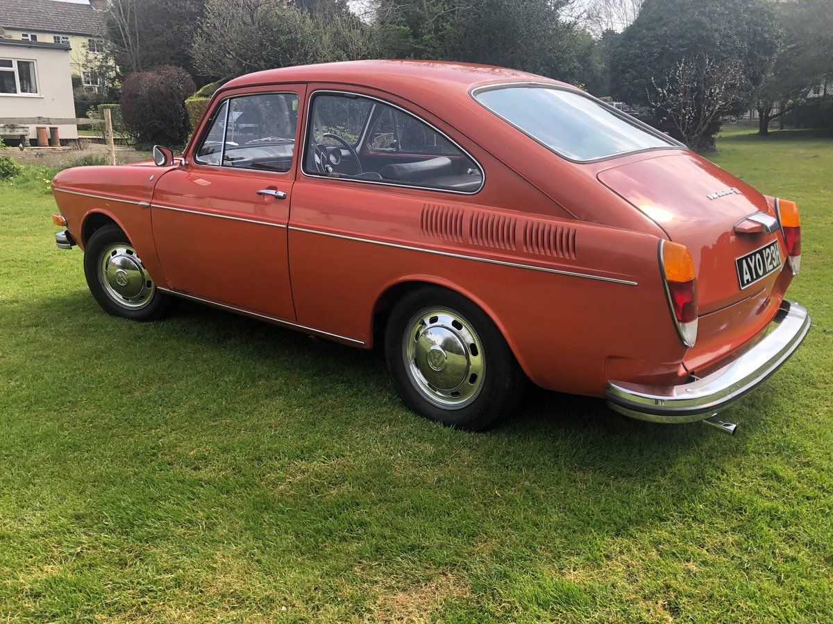 1970 VW type 3 fastback , 48,000 miles For Sale (picture 3 of 6)