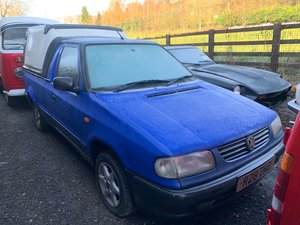 1997 Volkswagen Caddy Pickup For Sale by Auction