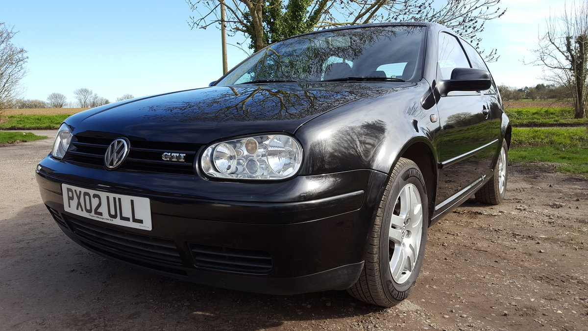2002 GOLF GTI 3dr. 2.0 8v For Sale (picture 1 of 6)
