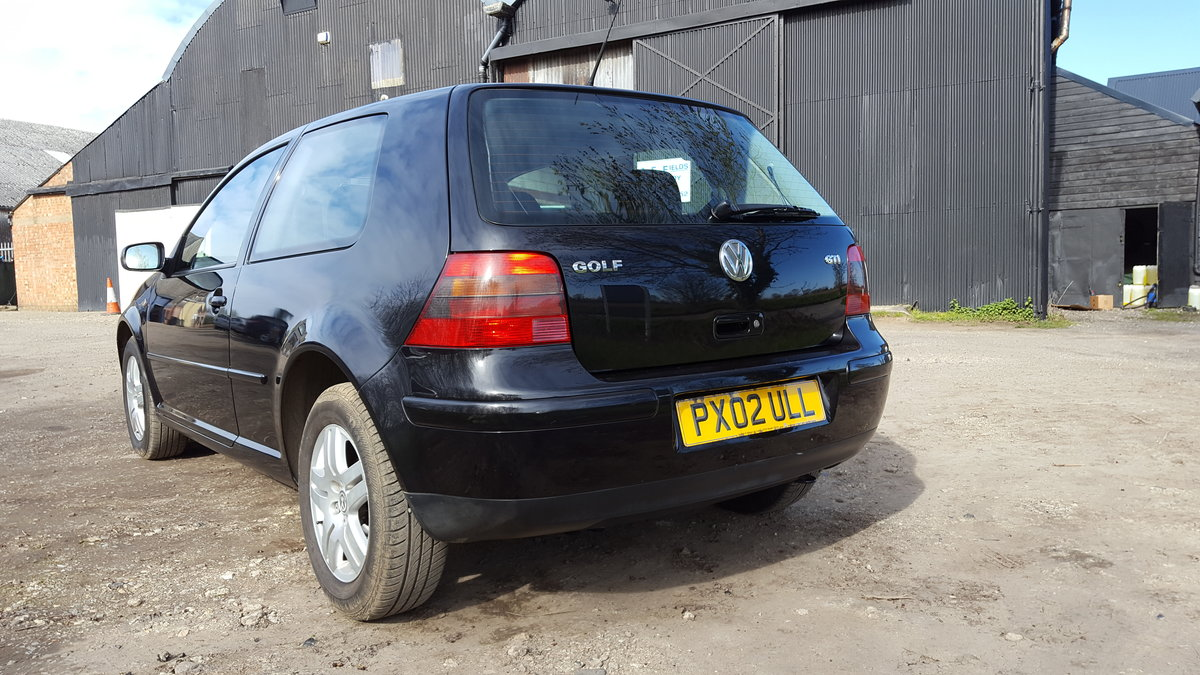 2002 GOLF GTI 3dr. 2.0 8v SOLD (picture 2 of 6)