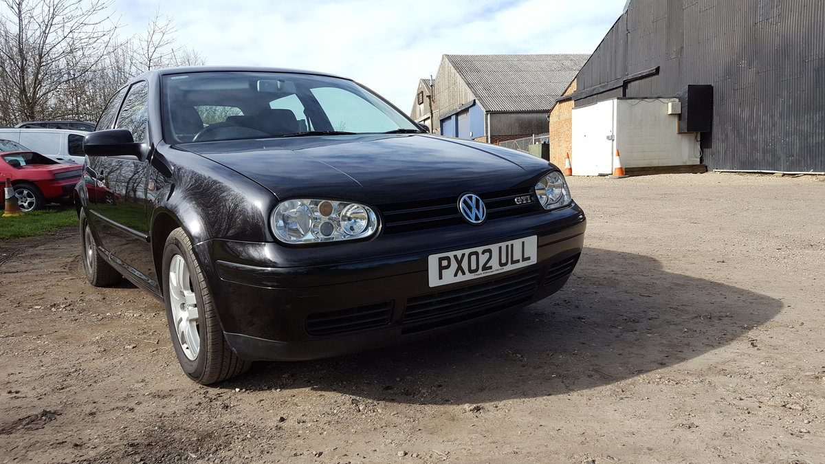 2002 GOLF GTI 3dr. 2.0 8v SOLD (picture 3 of 6)