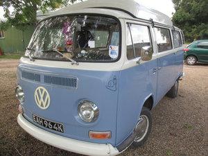 VW T2 Bay Dormobile 1600 Campervan