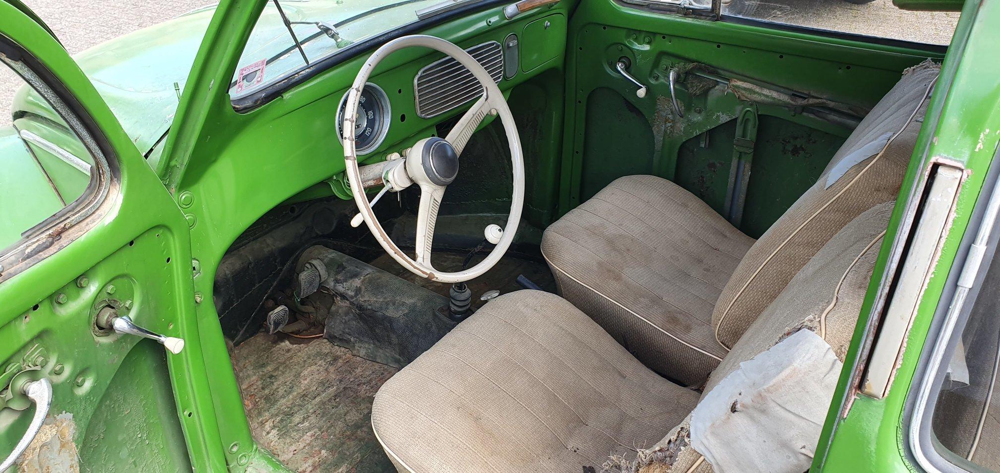 1957 Volkswagen Beetle, VW Kafer, VW V Beetle For Sale (picture 5 of 6)