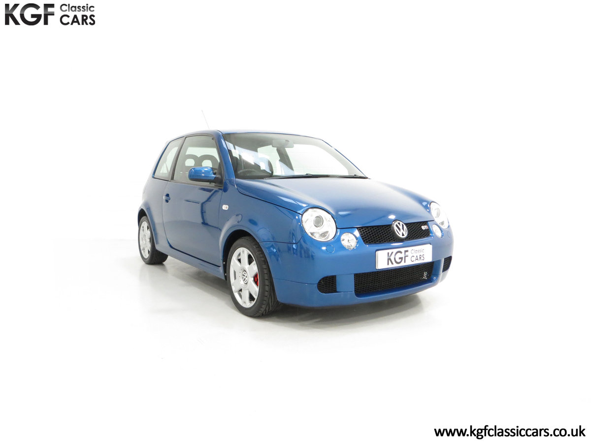 2003 UK Raven Blue Volkswagen Lupo GTi, 17 Stamps & 44,460 Miles SOLD (picture 1 of 24)
