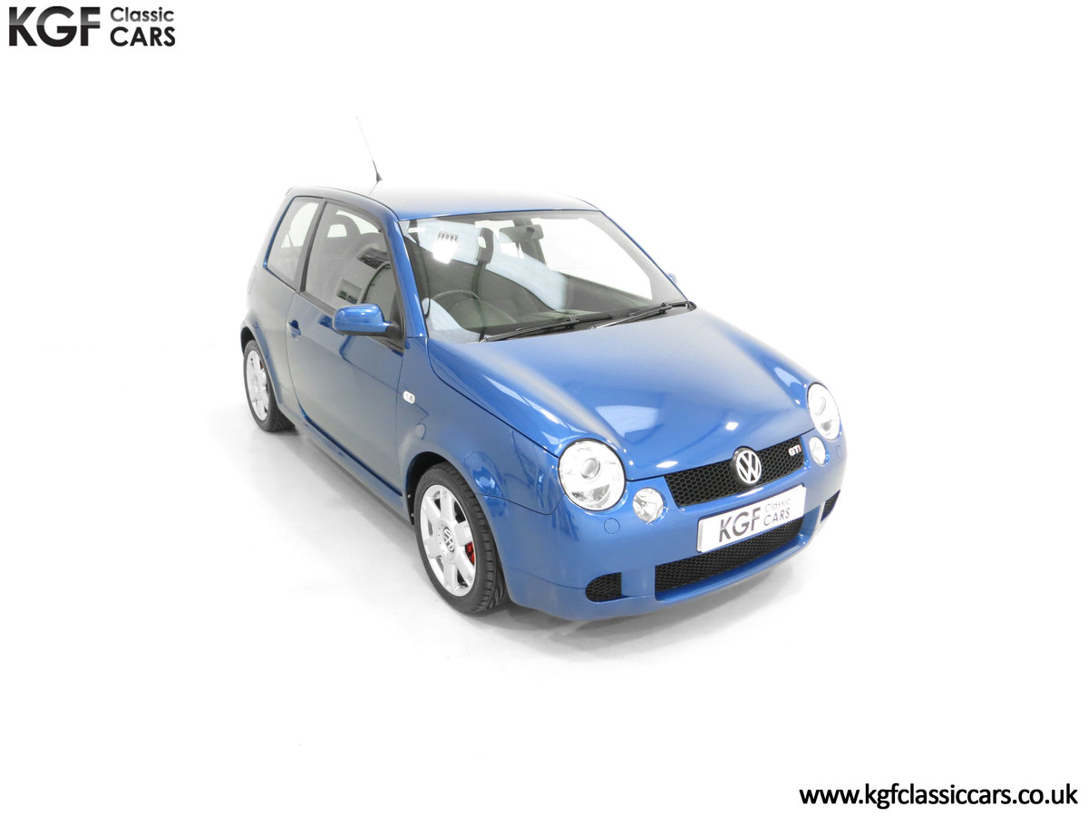2003 UK Raven Blue Volkswagen Lupo GTi, 17 Stamps & 44,460 Miles SOLD (picture 2 of 24)