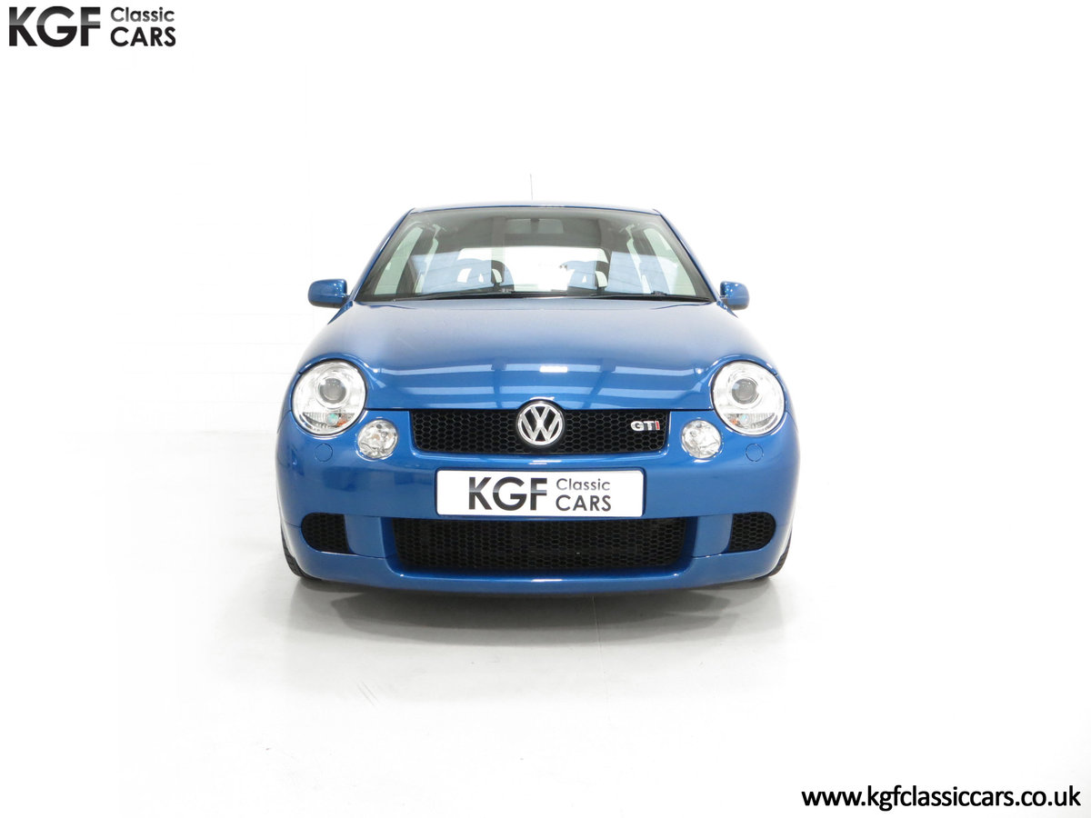 2003 UK Raven Blue Volkswagen Lupo GTi, 17 Stamps & 44,460 Miles SOLD (picture 3 of 24)