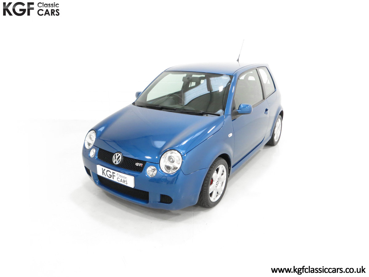 2003 UK Raven Blue Volkswagen Lupo GTi, 17 Stamps & 44,460 Miles SOLD (picture 5 of 24)