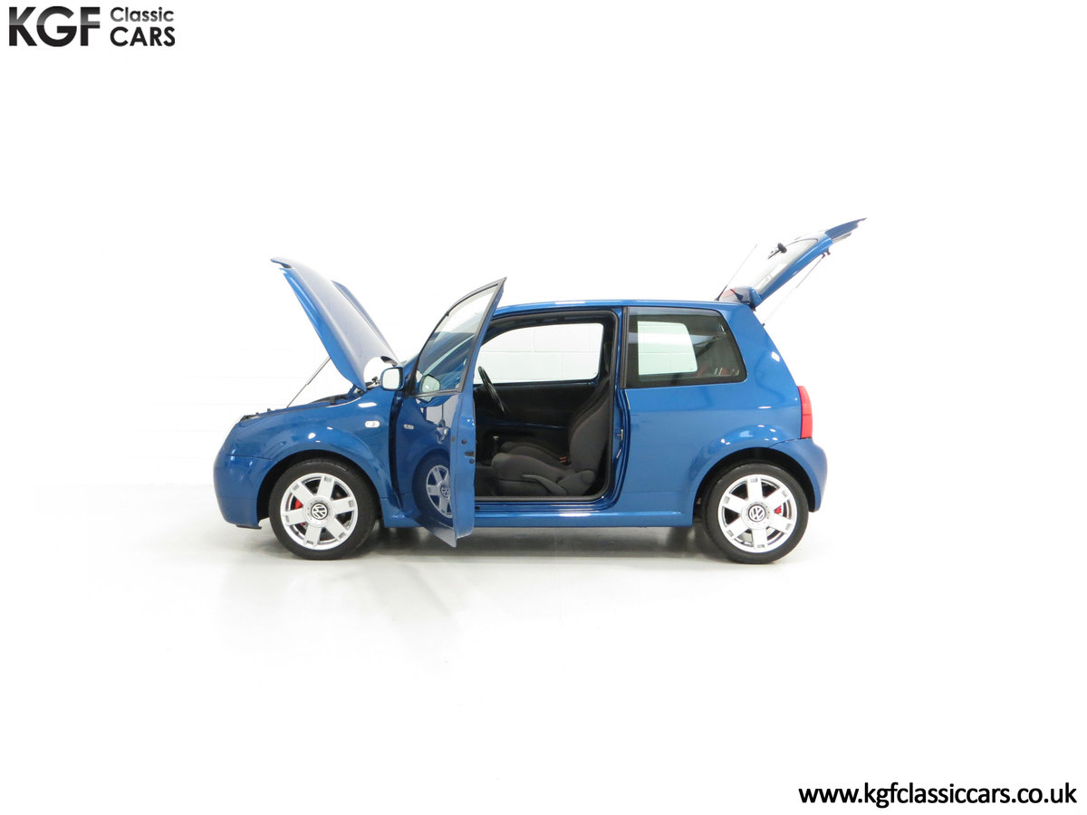 2003 UK Raven Blue Volkswagen Lupo GTi, 17 Stamps & 44,460 Miles SOLD (picture 7 of 24)