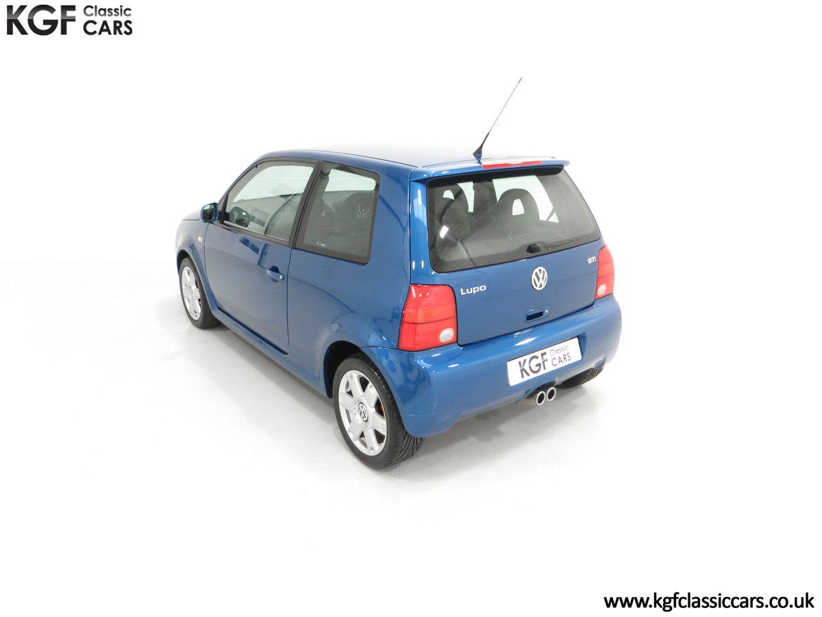 2003 UK Raven Blue Volkswagen Lupo GTi, 17 Stamps & 44,460 Miles SOLD (picture 9 of 24)