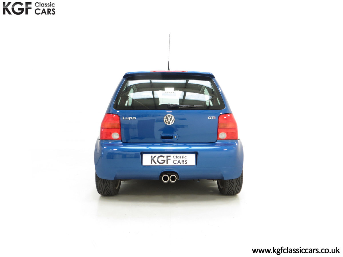 2003 UK Raven Blue Volkswagen Lupo GTi, 17 Stamps & 44,460 Miles SOLD (picture 10 of 24)