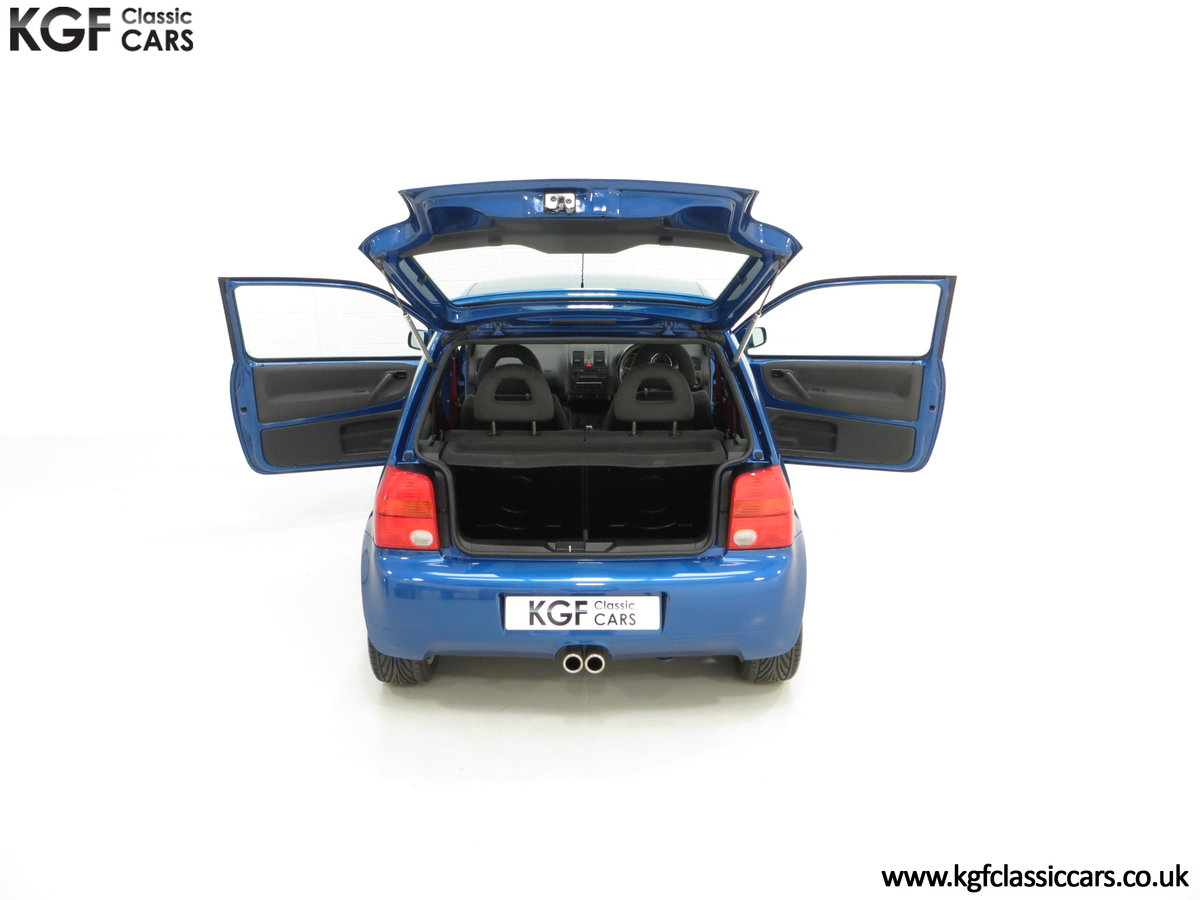 2003 UK Raven Blue Volkswagen Lupo GTi, 17 Stamps & 44,460 Miles SOLD (picture 11 of 24)