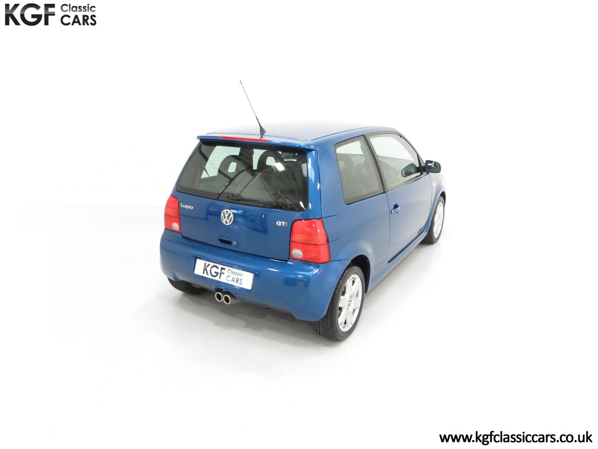 2003 UK Raven Blue Volkswagen Lupo GTi, 17 Stamps & 44,460 Miles SOLD (picture 12 of 24)