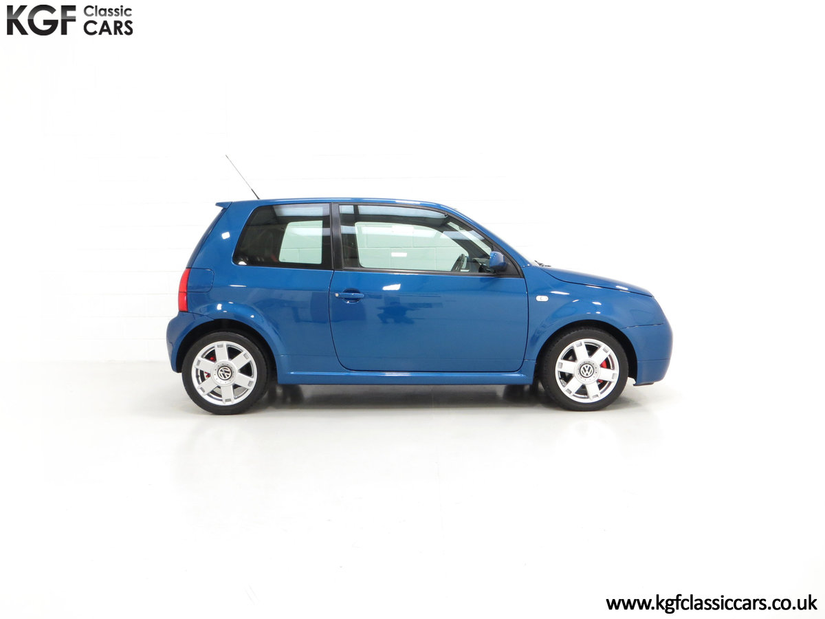 2003 UK Raven Blue Volkswagen Lupo GTi, 17 Stamps & 44,460 Miles SOLD (picture 14 of 24)