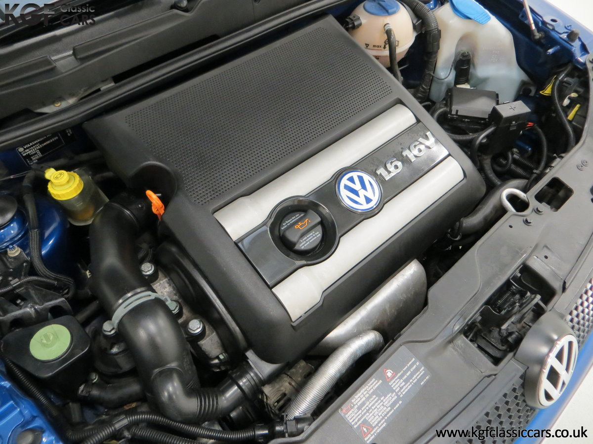 2003 UK Raven Blue Volkswagen Lupo GTi, 17 Stamps & 44,460 Miles SOLD (picture 16 of 24)