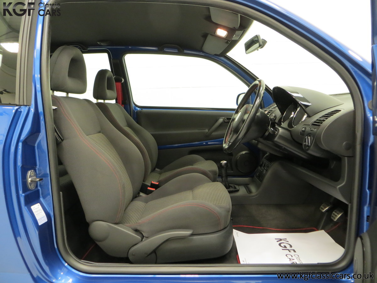 2003 UK Raven Blue Volkswagen Lupo GTi, 17 Stamps & 44,460 Miles SOLD (picture 17 of 24)