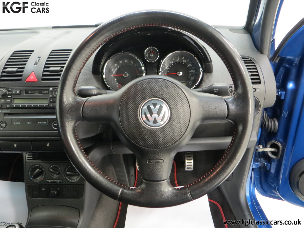 2003 UK Raven Blue Volkswagen Lupo GTi, 17 Stamps & 44,460 Miles SOLD (picture 24 of 24)