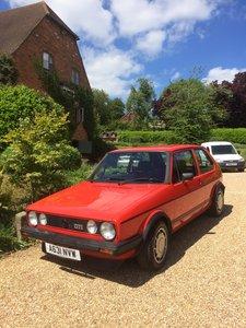 1983 Original Mk1 Golf Gti - Mars Red