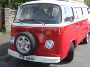 Vw t2 bay campervan  1,700cc twin carb. Devon