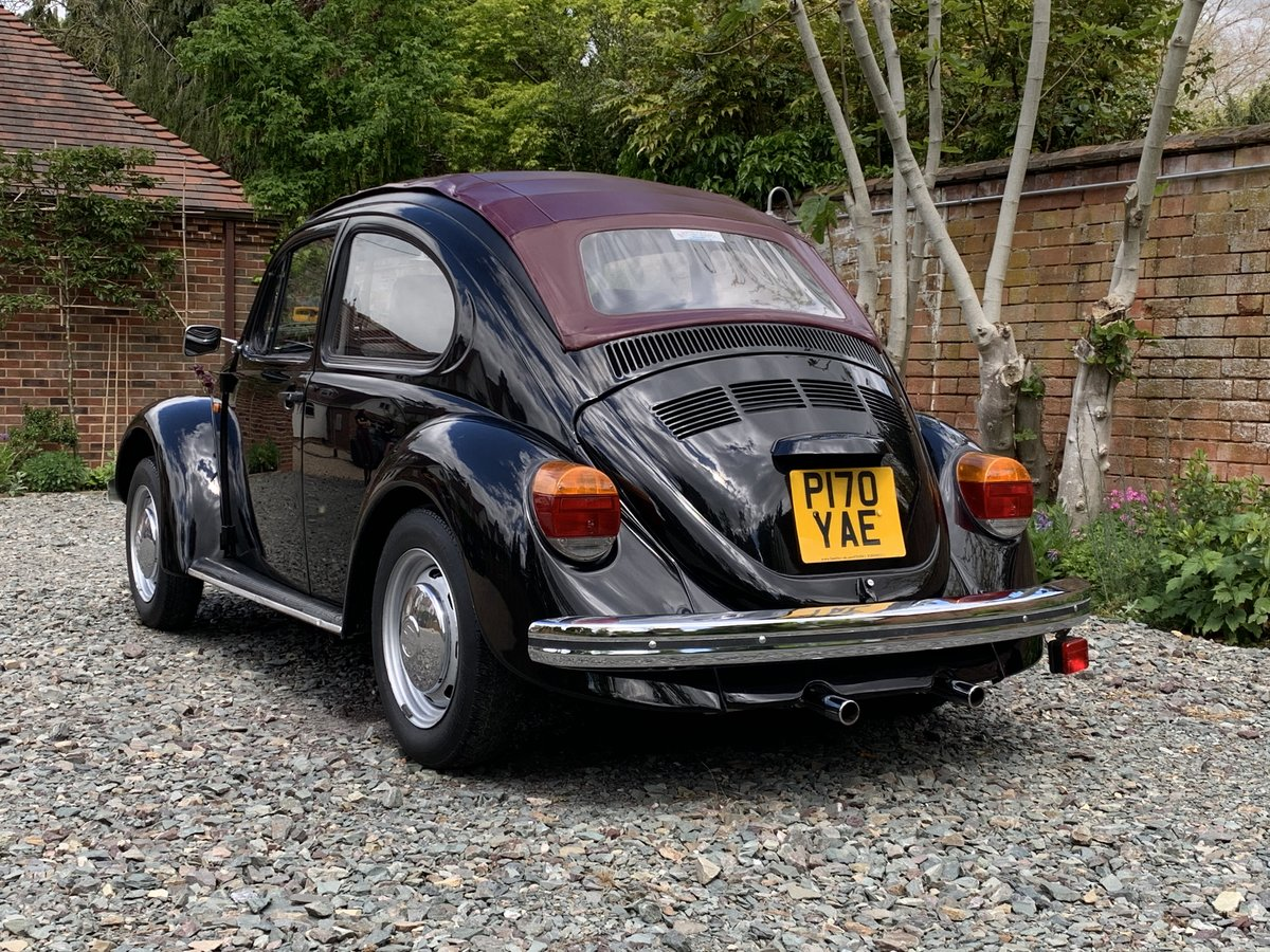 1996 SORRY NOW SOLD - CLASSIC BEETLE RHD OPEN AIR 1600i For Sale (picture 2 of 6)