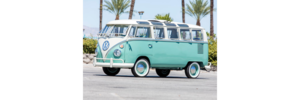 1966 VOLKSWAGEN TYPE-2 SAMBA  BUS - GS CARS SOLD by Auction