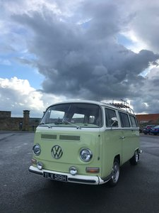 VW Type 2 Bay Window Wedding Van
