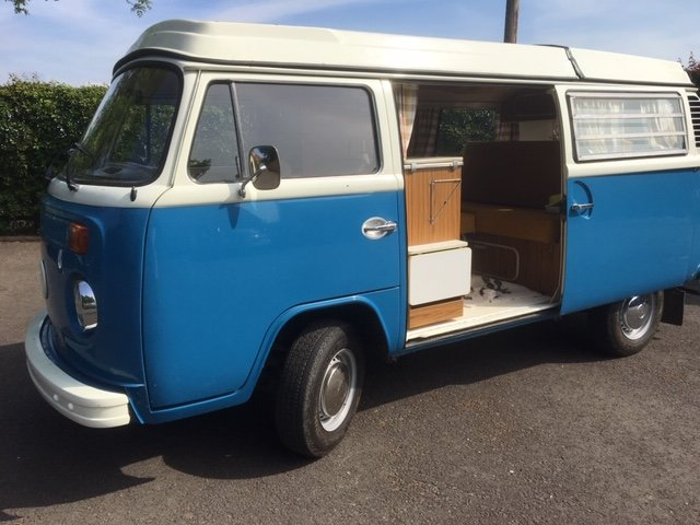 1972 VW T2 Bay Window Camper Van RHD SOLD (picture 3 of 6)