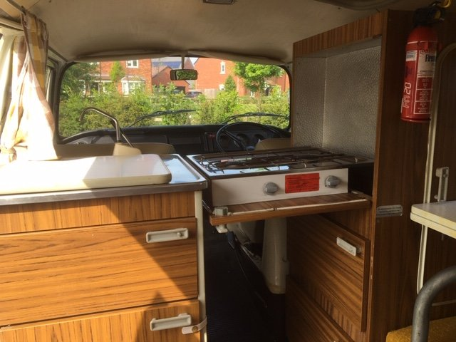 1972 VW T2 Bay Window Camper Van RHD SOLD (picture 4 of 6)