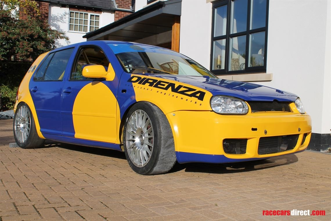 2003 VW MK4 Golf 1.8T Race Car For Sale (picture 1 of 2)
