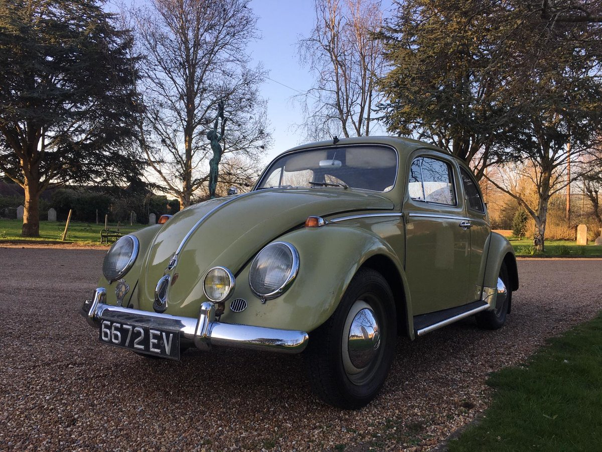 1959 Vw Beetle Classic Saloon Rare unrepeatable For Sale (picture 1 of 6)