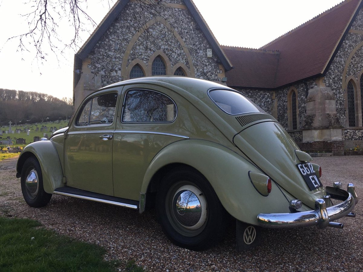 1959 Vw Beetle Classic Saloon Rare unrepeatable For Sale (picture 2 of 6)