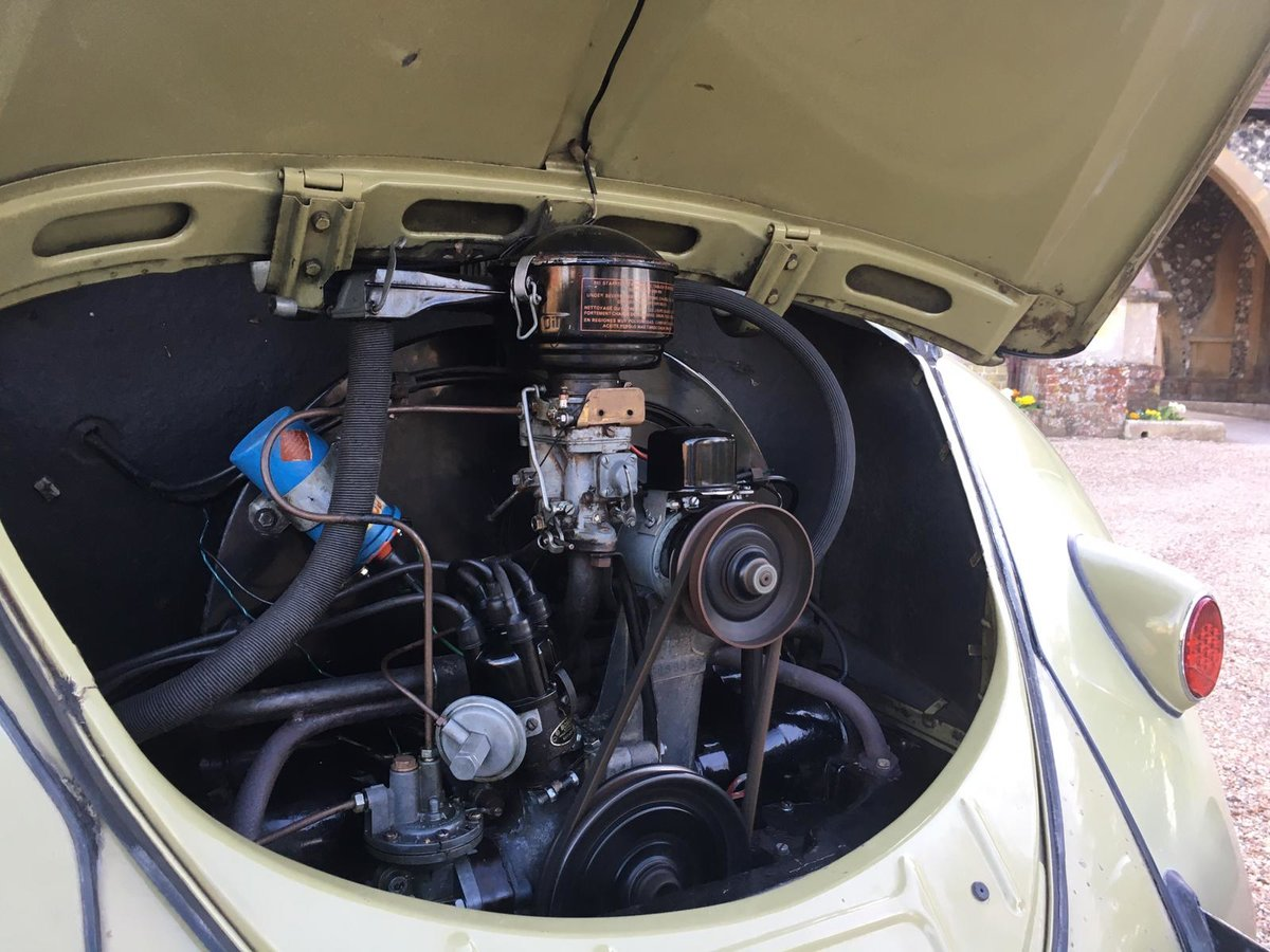 1959 Vw Beetle Classic Saloon Rare unrepeatable For Sale (picture 6 of 6)