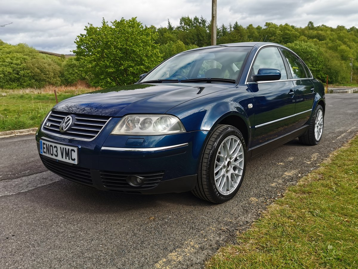2003 VW Passat 4.0 W8 4Motion Ultra Rare, Launch Colour For Sale (picture 2 of 6)