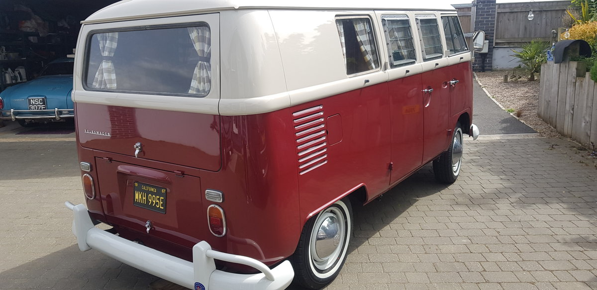 VW campervan 1967 original SO42. Sale agreed. SOLD (picture 3 of 6)
