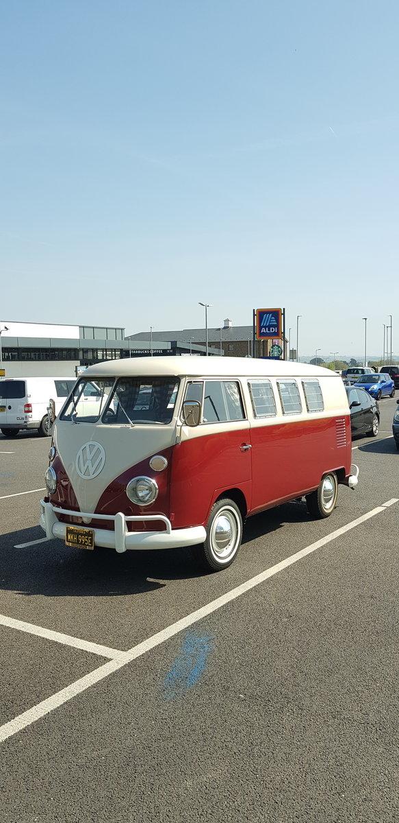 VW campervan 1967 original SO42. Sale agreed. SOLD (picture 6 of 6)