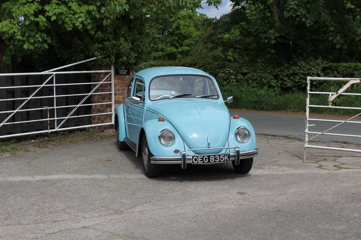 1971 VW Beetle 1200 - 55k Miles, very original For Sale (picture 1 of 17)
