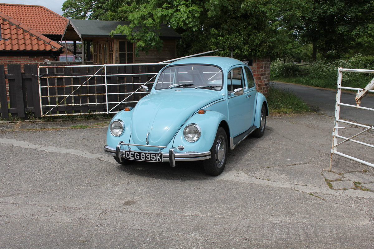 1971 VW Beetle 1200 - 55k Miles, very original For Sale (picture 3 of 17)